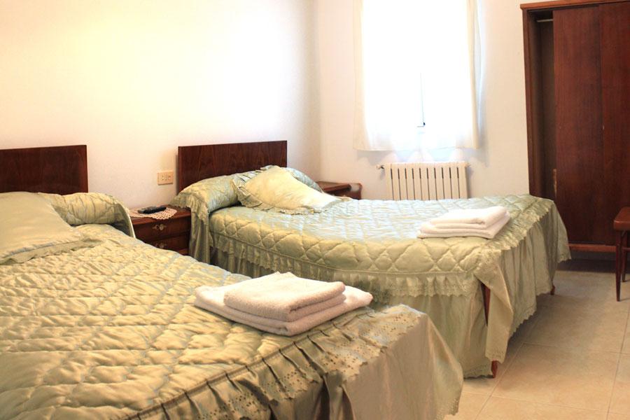 Habitación doble del Restaurante Niza